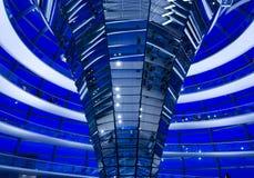 Reichstag dome interior Stock Image
