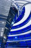 Reichstag dome interior Royalty Free Stock Photography
