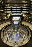 Reichstag dome by night, Berlin Stock Photography