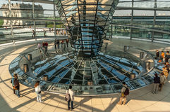 Reichstag dome Royalty Free Stock Images