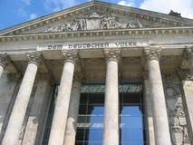 Reichstag en Berlín Fotografía de archivo