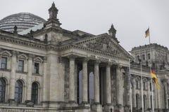 Reichstag en Berlín Foto de archivo libre de regalías
