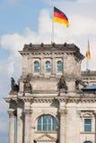 Reichstag en Berlín, Alemania Imagen de archivo libre de regalías