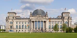 Reichstag en Berlín, Alemania Fotografía de archivo