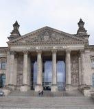 Reichstag - en historisk byggnad var i åren 1894-1933 in Arkivbild