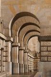 reichstag för galleriberlin parlament Arkivbilder