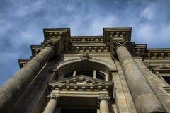 reichstag för parlament för berlin byggnad tysk Royaltyfri Fotografi