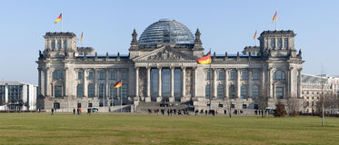 Reichstag Gebäude in Berlin Lizenzfreie Stockbilder