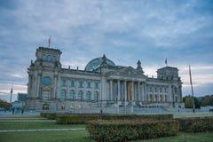 Reichstag Gebäude, Berlin stockbild