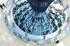 Reichstag Gebäude in Berlin, Deutschland Stockfotografie