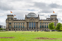 Reichstag, German Parliament Royalty Free Stock Images