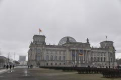 Reichstag in Germania fotografia stock