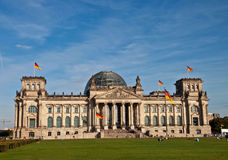 Reichstag germany Royalty Free Stock Image