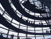 Reichstag Haube Stockfotografie