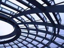 Reichstag Haube   Lizenzfreie Stockfotos