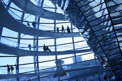 Reichstag Haube Stockfoto