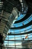 Reichstag Haube - Berlin Lizenzfreies Stockbild
