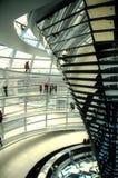 Reichstag Haube - Berlin Stockfotos