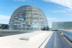 Reichstag Haube, Berlin modernes achitecture Lizenzfreie Stockbilder