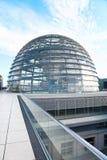 Reichstag-Haube, moderne Architektur Berlins Lizenzfreies Stockfoto