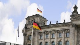 The Reichstag is a historic edifice in Berlin, Germany, constructed to house the Imperial Diet of the German Empire. It was opened in 1894 and housed the Diet Royalty Free Stock Photos