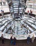 Reichstag kopuła inside zdjęcie stock