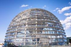 Reichstag kupol Arkivbilder