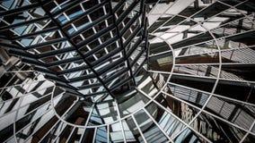 Reichstag kupol Arkivfoton