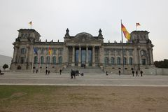 Reichstag photographie stock