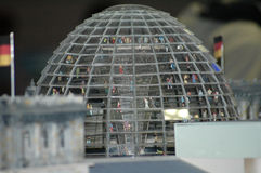 Reichstag Model Stock Images