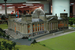 Reichstag Model Stock Photos