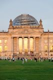 Reichstag at morning light Royalty Free Stock Images