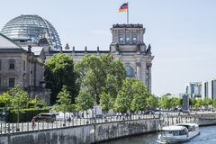 Reichstag. One of the most popular buildings in Berlin Stock Photo