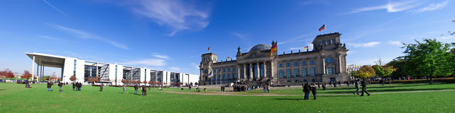 Reichstag panorama Stock Photo