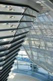 Reichstag - Parlamentsgebäude Stockbilder