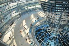 Reichstag - Parlamentsgebäude Stockfotos