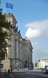 Reichstag - Parlamentsgebäude Lizenzfreies Stockfoto