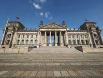 Reichstag parliament in Berlin Stock Photos