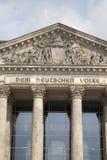 Reichstag Parliament Building; Berlin Stock Photos