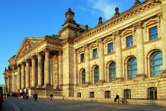 Reichstag, Parliament Building, Berlin, Royalty Free Stock Photos