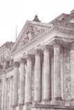 Reichstag Parliament Building, Berlin Royalty Free Stock Photos