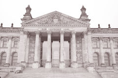 Reichstag Parliament Building, Berlin Royalty Free Stock Photo