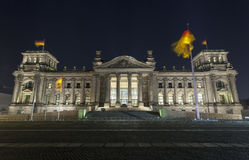 Reichstag Parliament Buildings in Berlin Royalty Free Stock Image