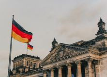 Reichstag. A picture of the Reichstag royalty free stock images