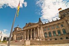 Reichstag que bilding, Berlim fotografia de stock royalty free