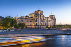 Reichstag, River Spree, Berlin Royalty Free Stock Image