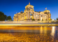 Reichstag, River Spree, Berlin Royalty Free Stock Photography