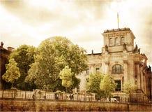 Reichstag velho Imagens de Stock