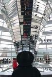Reichstag Zentrale-Spalte Stockfotos