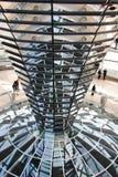 Reichstagkoepel van het Parlement Royalty-vrije Stock Fotografie